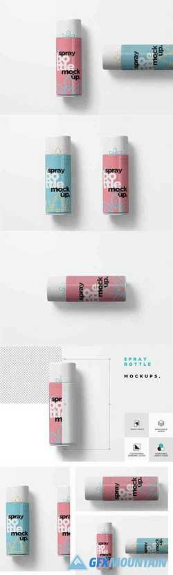 Spray Bottle Mockups 3525329