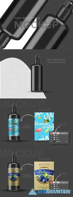 Spray bottle cosmetic cream 3728500