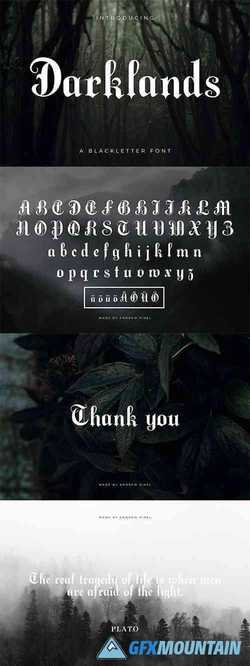 Darklands - A Blackletter Font