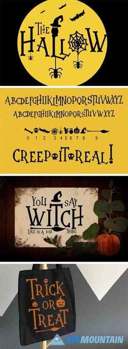 The Hallow Font