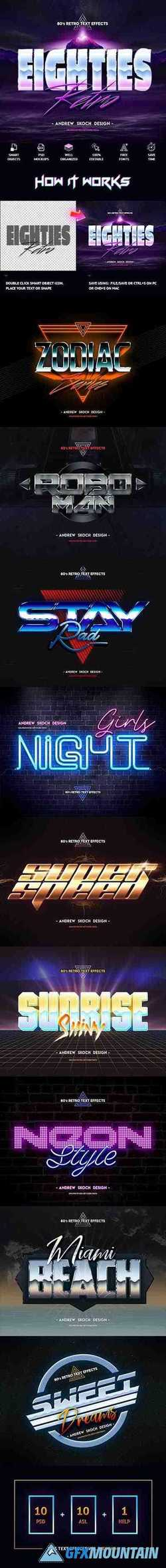 80S RETRO TEXT EFFECTS VOL.3 - 23856557
