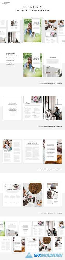 Morgan Digital Magazine Template 3736883