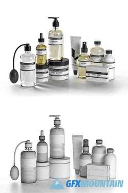 Care For Water Products 3D model