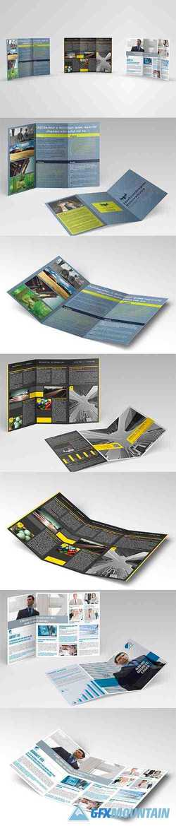Trifold Brochures Bundle 02 3340411