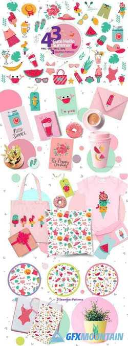 Cute Hello Summer Bundle 1421000