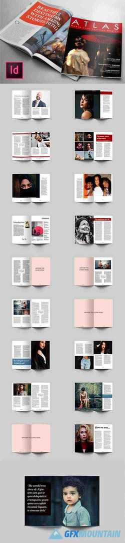 80 Page Lifestyle Magazine Template 1597187