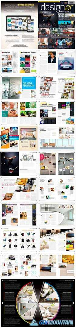 Magazine Template InDesign 1663114