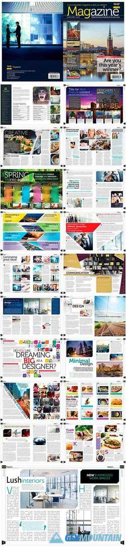 Magazine Template InDesign 1663164