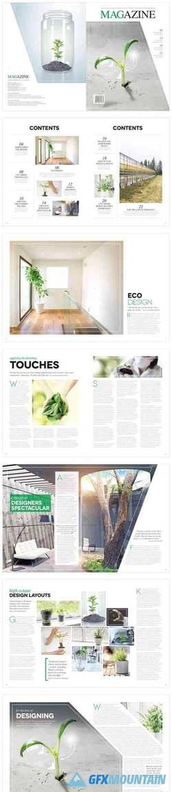 Magazine Template InDesign 1666769