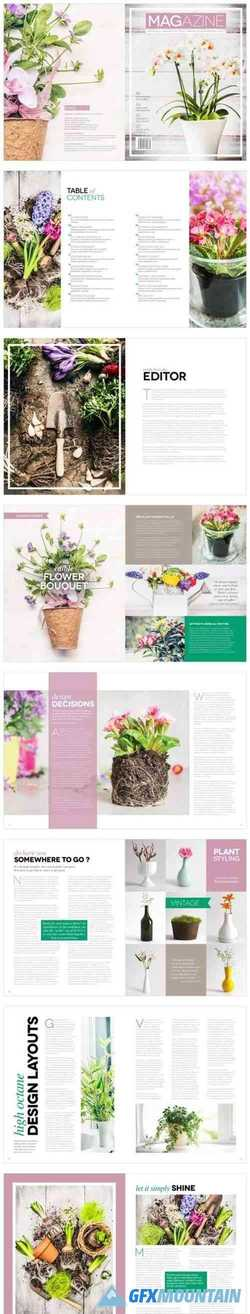 Magazine Template InDesign 1666750