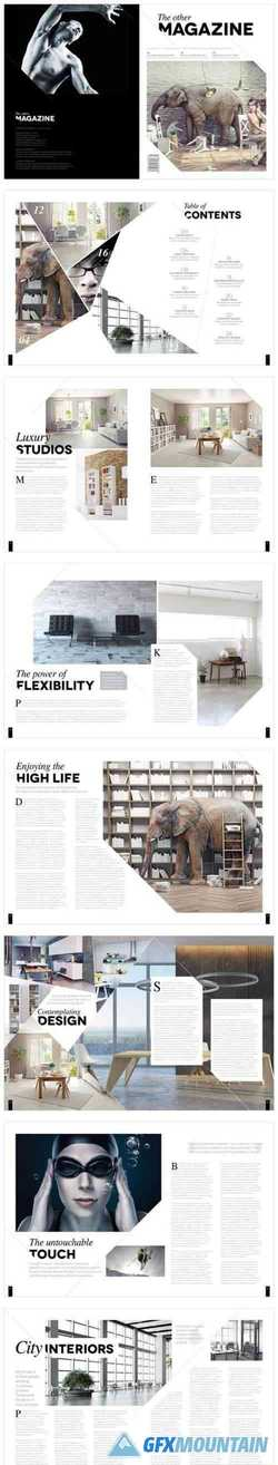 Magazine Template InDesign 1666803