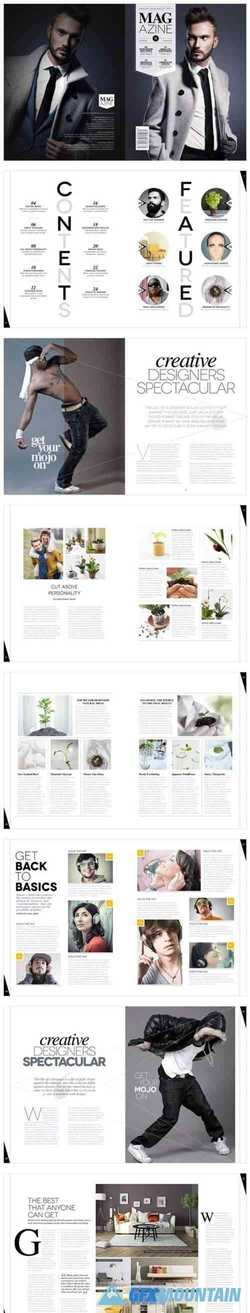 Magazine Template InDesign 1666793