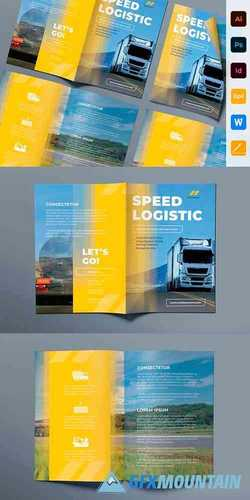Trucking Logistics Brochure Bifold 3987129