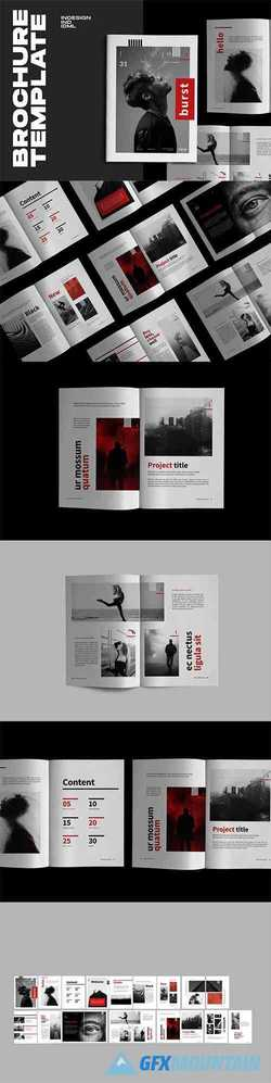 Burst - Urban Design Indesign Brochure