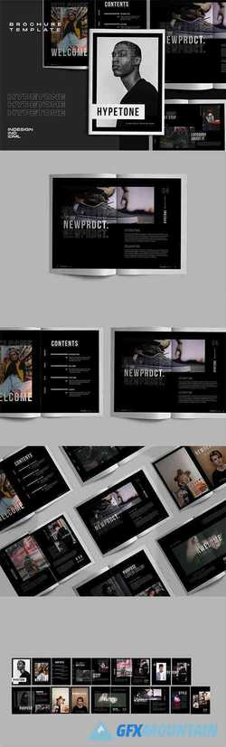 Hypetone - Creative Urban Indesign Brochure