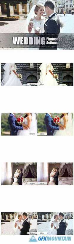 110 Wedding Photoshop Actions 3942076