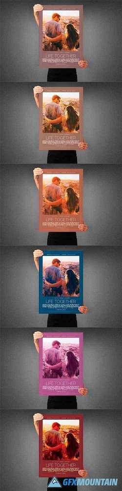 Life Together Movie Poster Template 3991111