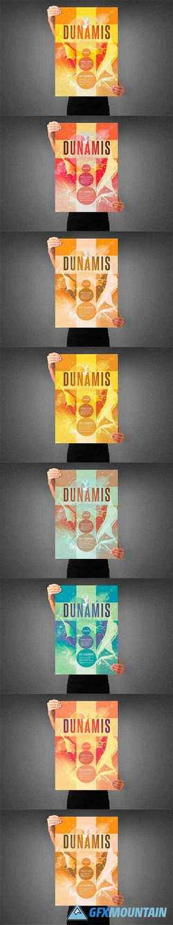 Dunamis Church Poster Template 3991841