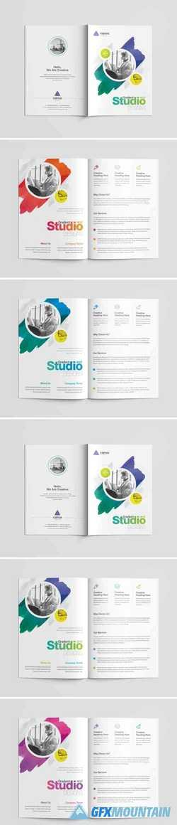 Business Bi-Fold Brochure Template
