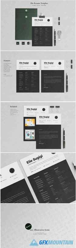 Resume Template 3 Pages 1697408