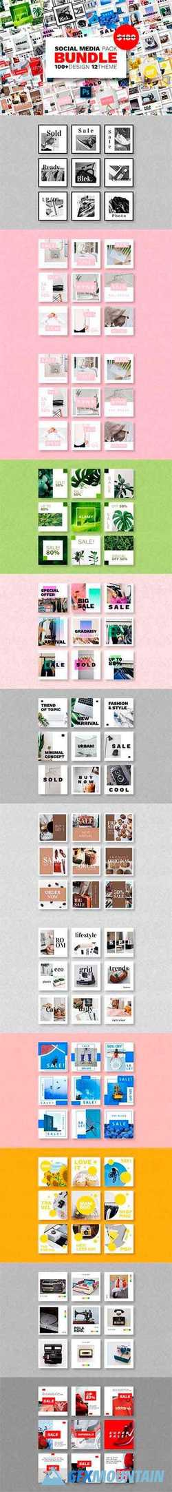 Social Media Pack Bundles – Vol.03