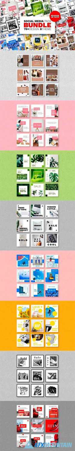 Social Media Pack Bundles – Vol.02