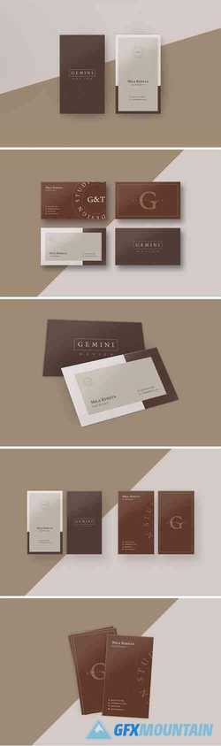 Gemini Business Card Templates 4046297