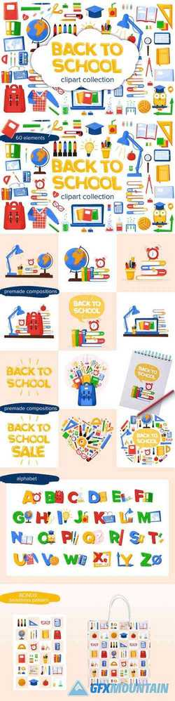 Back to School Clipart 1668802