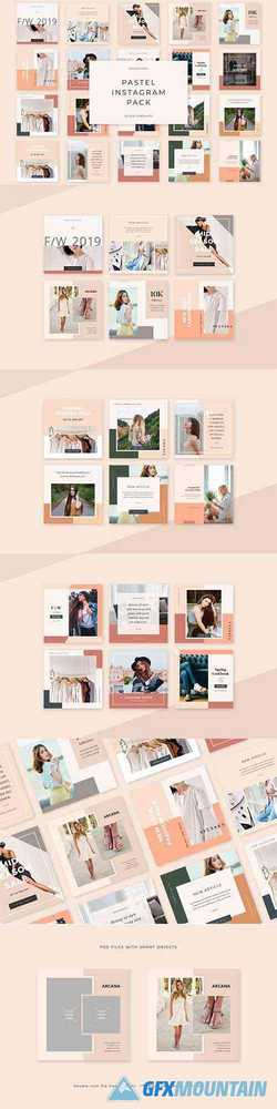 Pastel Instagram Pack 4018852