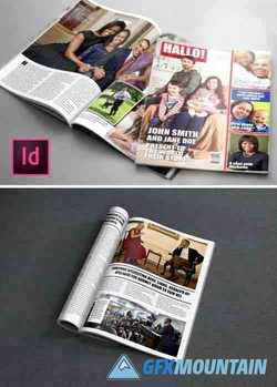 Gossip Magazine Indesign Template 1738554