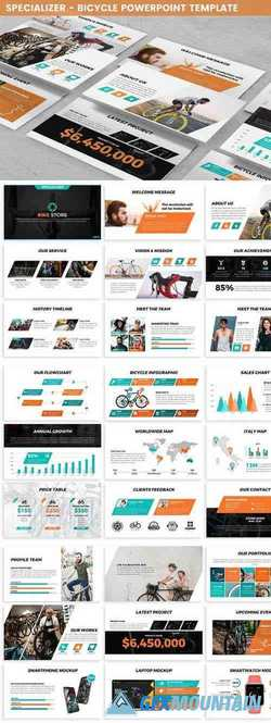 Specializer - Bicycle Powerpoint Template