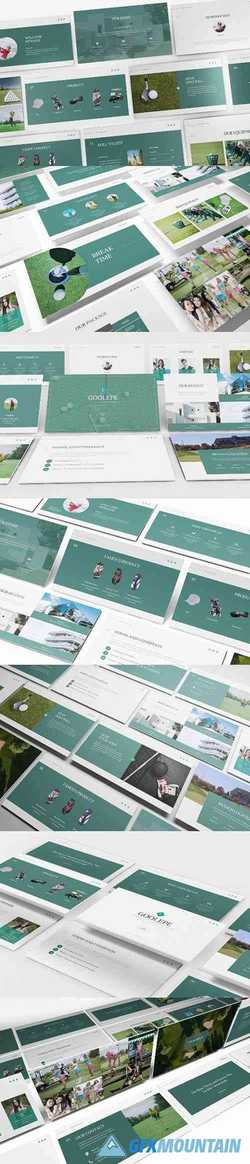 Golf Powerpoint Presentation, Keynote and Google Slides Templates