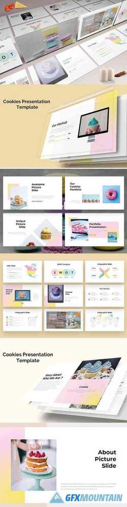 Cookies - Sweet PowerPoint , Keynote and Google Slides