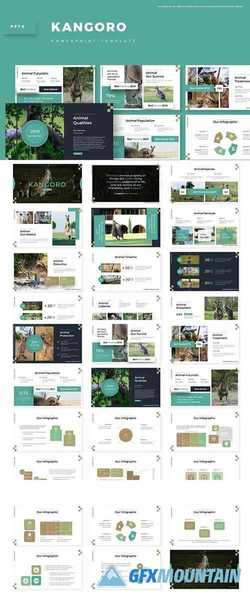 Kangoro - Powerpoint, Keynote and Google Slides Templates