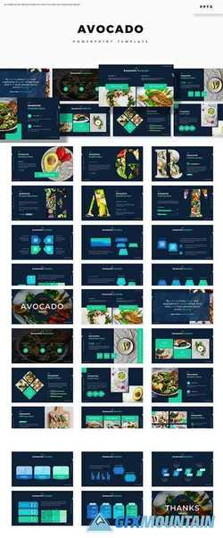 Avocado - Powerpoint, Keynote and Google Slides Templates
