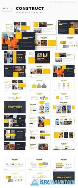 Construct - Powerpoint, Keynote and Google Slides Templates