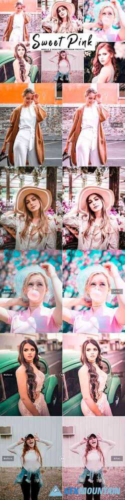 Sweet Pink Pro Lightroom Presets 4107214