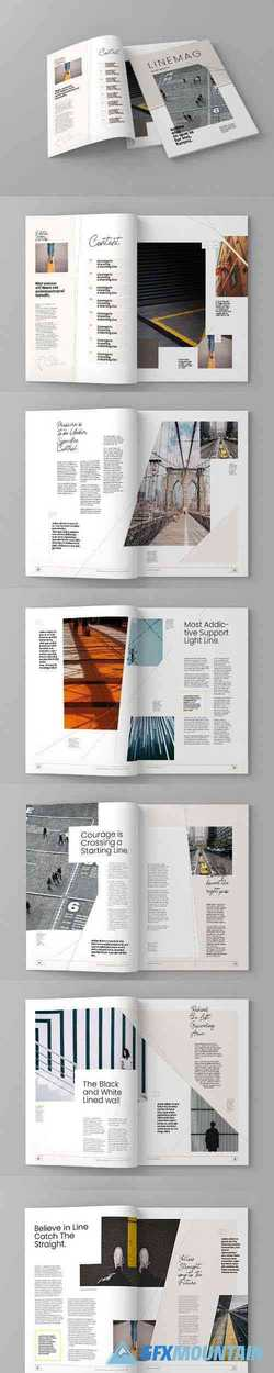 Linemag - Magazine Template