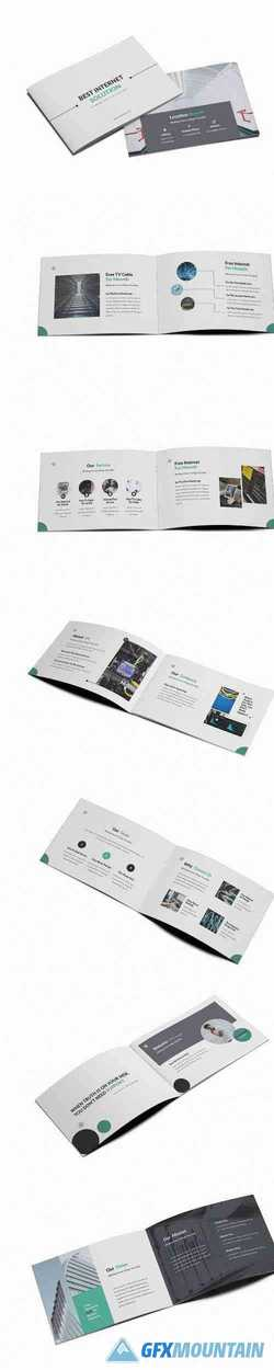 ISP A5 Brochure Template