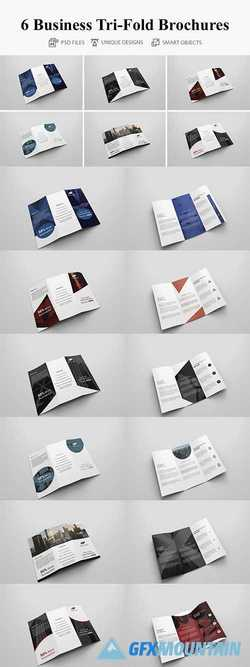 6 Business Tri-fold Brochure 4117379