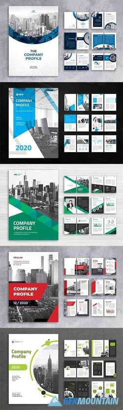 5 Company Profile Pack
