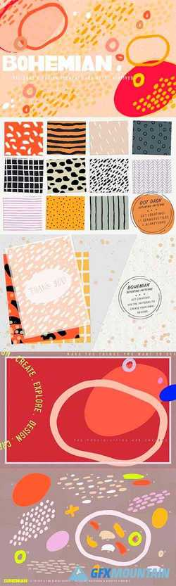 BOHEMIAN Patterns + Elements 2461710