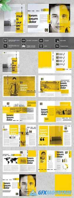 OUBEL Yellow Multipurpose Brochure 4162134