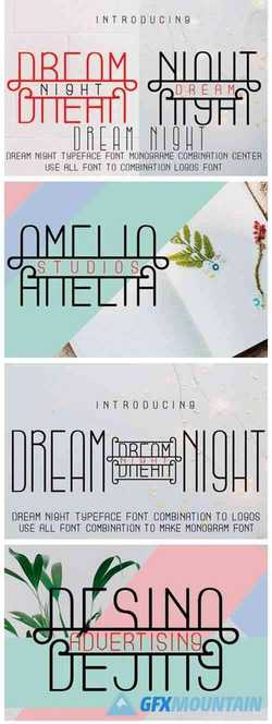 Dream Night Font
