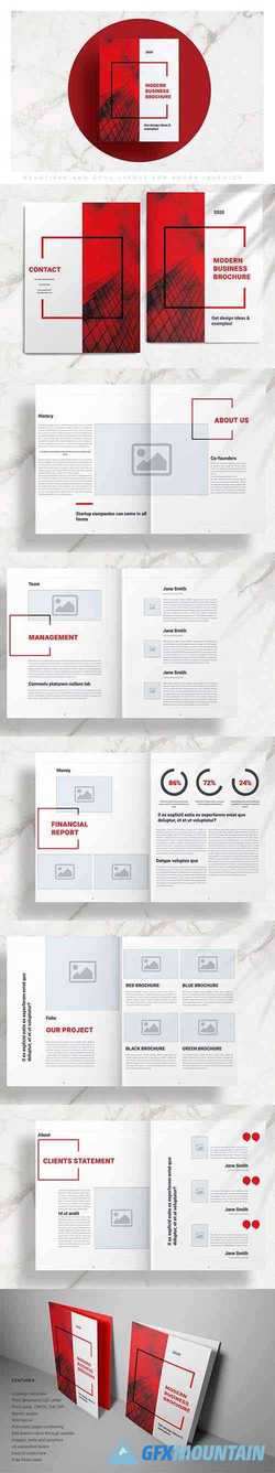 Red Business Brochure Template 4228681