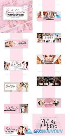 Beauty Service Facebook Cover 24742912