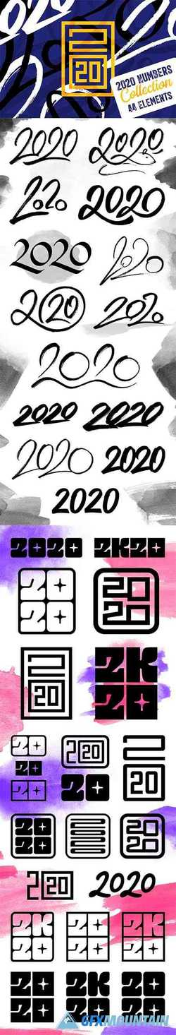 2020 Numbers Lettering Set 1946578