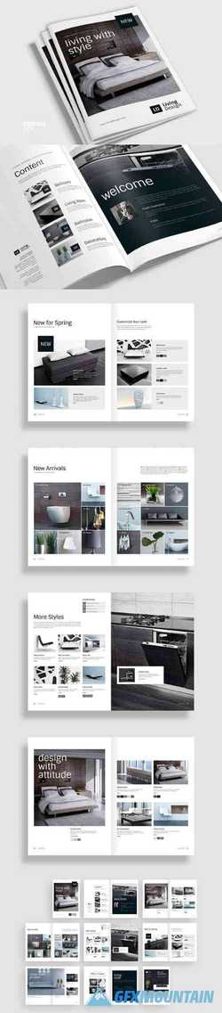 Living Design - Product Catalog Template
