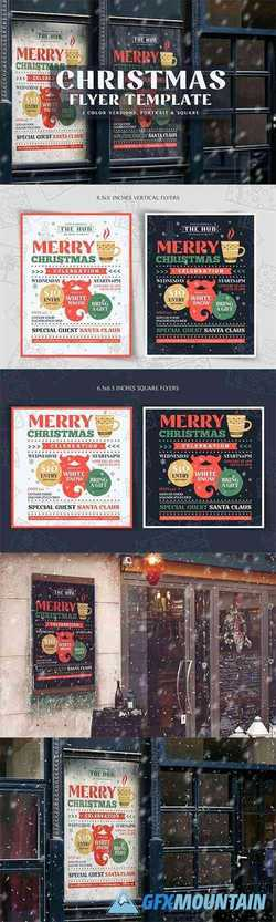 Christmas Flyer Template Vol1 4276184