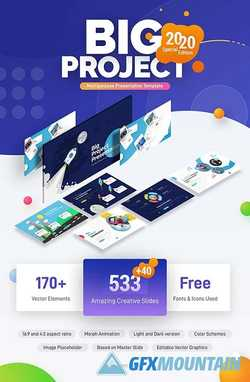 Big Project - Multipurpose Infographic Template 23383582